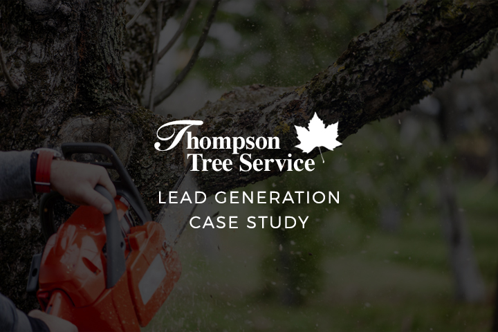 Case Study: Website Lead Generation – Thompson Tree Service